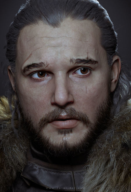 Living for cg jon snow 17161647 g8zn