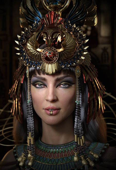 Lotusart cleopatra 58917cac cfhm