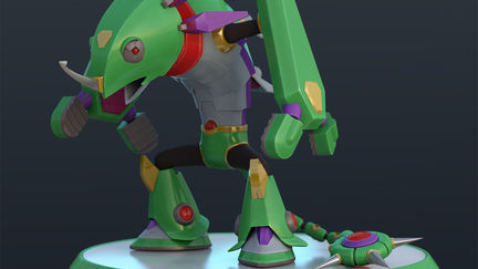 Sting Chameleon from Mega Man X
