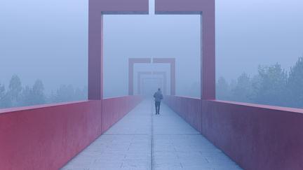 Walk through the fog