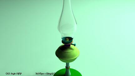 Old Classic Lamp
