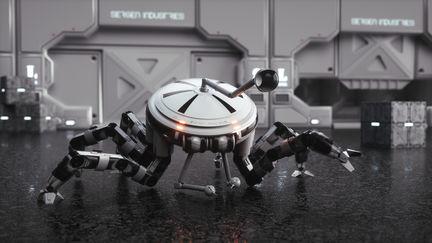Service drone concept