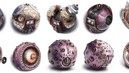 Dismantling alien orb