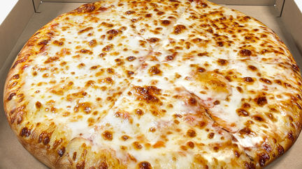 Cheese Pizza with Box 3D Model
