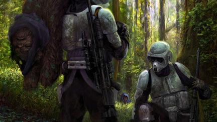 Ewok Hunting