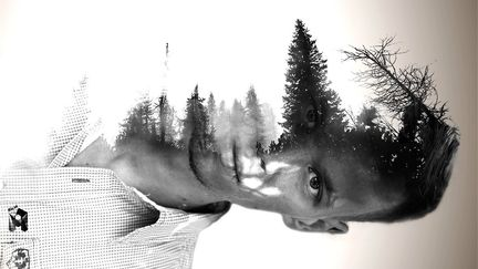 double exposure portrait #1