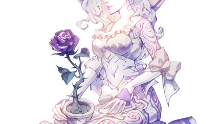 Secretly dark rose