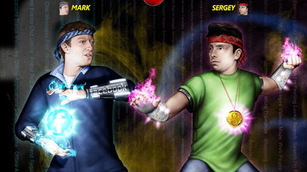 Mark against Sergey. Deadly fight.