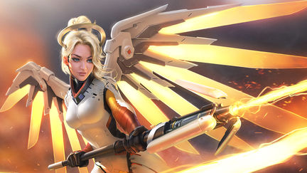 Mercy Fanart - Overwatch