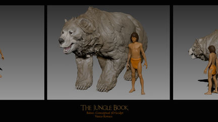 Baloo sculpt II