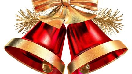 Christmas Bells (Red & Gold)