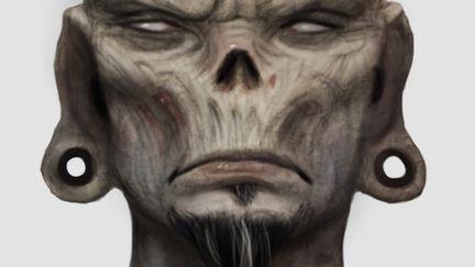 Headbanger zombie
