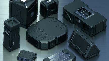 Concept sci-fi Ammunition boxes inspiration Mr. Pengzhen Zhang