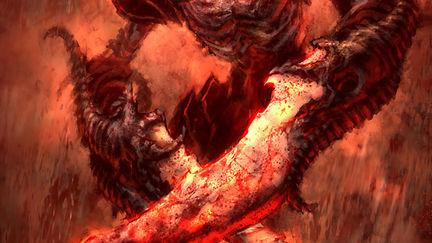 God of War 2- Dive Skele