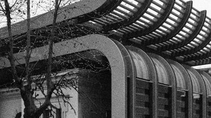 architecture in the winter