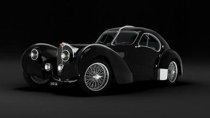 Bugatti Atlantic - Front View