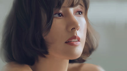 Portrait Study - Lee Hyori