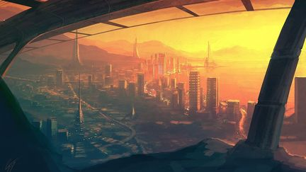 Speedpaint - Future City