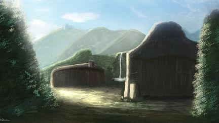 Hut Landscape