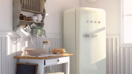 Danish White kitchen