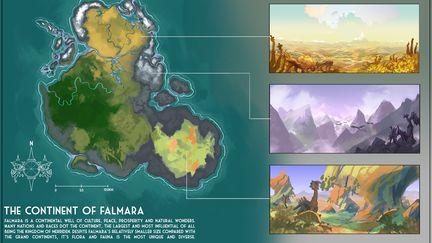 The World of Falmara - Concept Sheets
