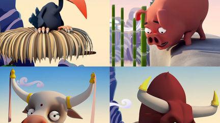 Cartoon cg animals