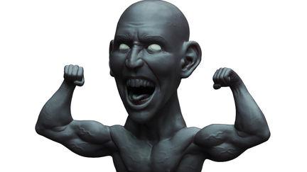 Black man mannequin