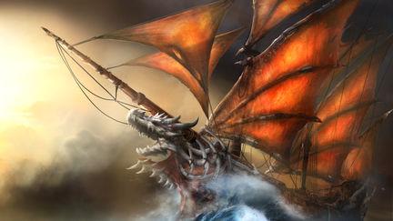 Xiao Lun's Dragon Galleon