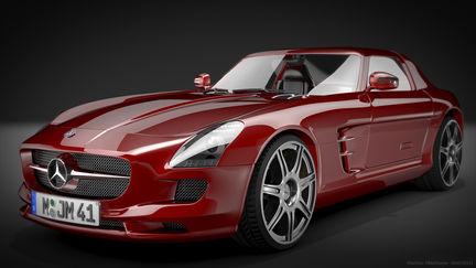 Mercedes SLS Studio
