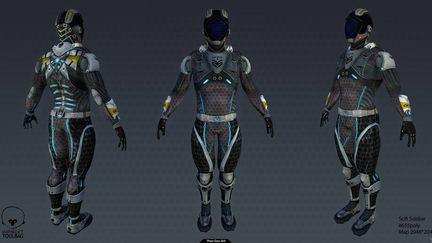 Scifi Soldier