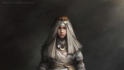 Pregnant civilian girl (Heroes)