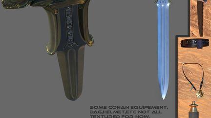 Atantlean sword  of Conan