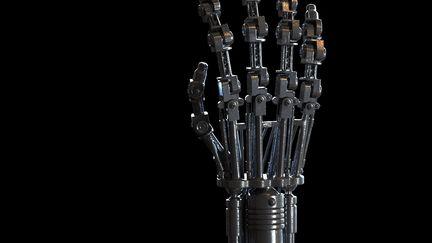 Endoskeleton hand