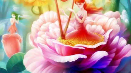The song of flower. Bin Wee