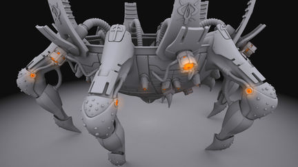 Stormrise Spiderbot