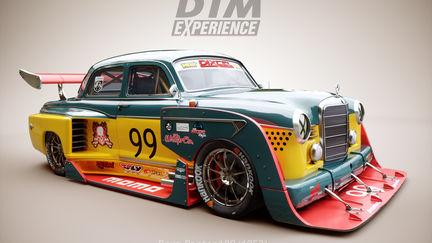 Benz Ponton DTM race car