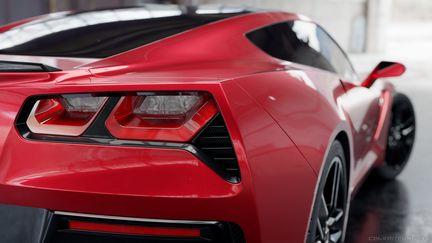 Corvette Stingray (with tutorial)