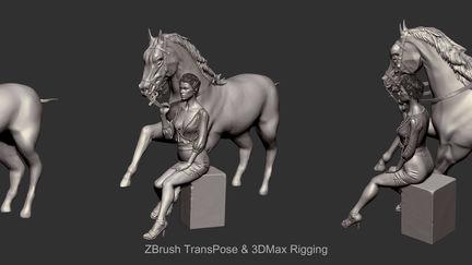 Doutzen-Kroes&Horse