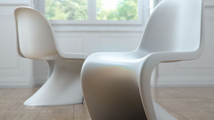 Vitra Chair by Verner Panton