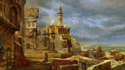 "concept art for "" The First Templar """