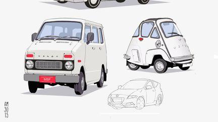 Car sketches 01
