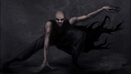 Vampire concept - study