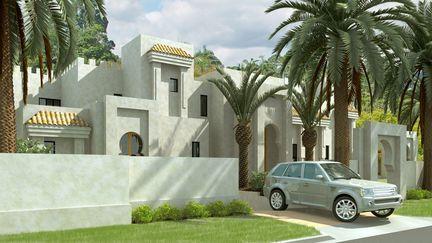 Moroccan Mansion