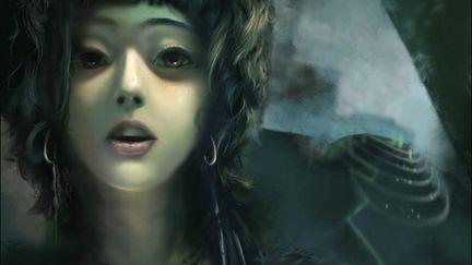 Mystical girl