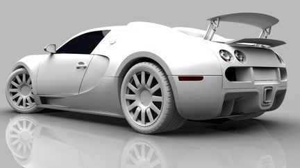 Bugatti Veyron 16.4 : Work in Progress