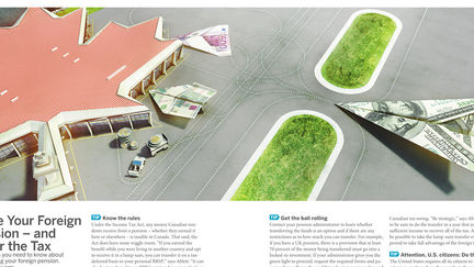 Financial Illustration for Magazine