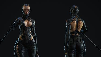 sci-fi female character
