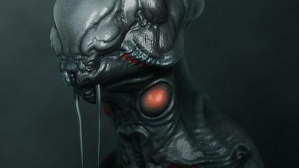 Concept Alien biomeca