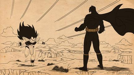 Raditsu vs Batman