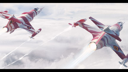 Santas Starfighter